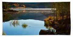 Lite Early Morning Mist Hand Towel by Steven Reed