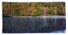 Little Beaver Lake Bath Towel by Melissa Petrey