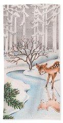 Little Deer Hand Towel