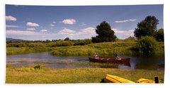 Little Deschutes River Bend Sunriver Thousand Trails Hand Towel