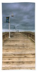 Little Island Pier Bath Towel