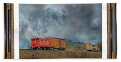 Little Red Caboose  Hand Towel