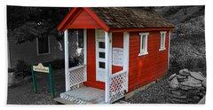 Little Red School House Bath Towel