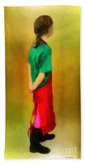 Little Shopgirl Bath Towel by RC deWinter