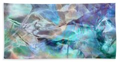 Living Waters - Abstract Art Hand Towel by Jaison Cianelli