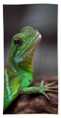 Lizard Bath Towel