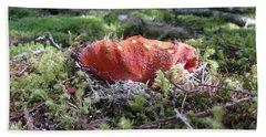 Lobster Mushroom Hand Towel