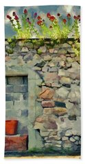 Location With A View Hand Towel by Jeff Kolker