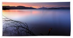 Loch Lomond Sunset Bath Towel