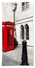 London Telephone Box Bath Towel