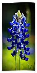 Lone Star Bluebonnet Bath Towel