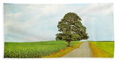 Bath Towel featuring the photograph Lone Tree by Brooke T Ryan