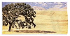 Lone Tree Hand Towel by Caitlyn  Grasso