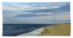 Lonely Cape Cod Beach Hand Towel