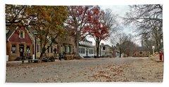 Lonely Colonial Williamsburg Bath Towel