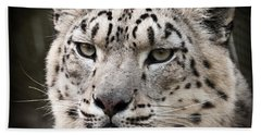 Look Into My Leopard Eyes Bath Towel