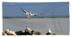 Look Ma - I Can Fly Bath Towel
