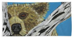 Looking For Supper Bath Towel by Jeffrey Koss