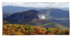 Looking Glass Rock And Fall Folage Hand Towel