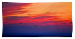 Lookout Mountain Sunset Hand Towel
