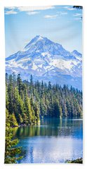 Lost Lake Morning Bath Towel