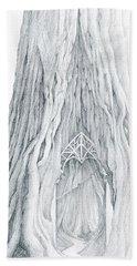 Lothlorien Mallorn Tree Bath Towel