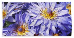 Lotus Light - Hawaiian Tropical Floral Hand Towel