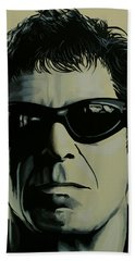 Lou Reed Painting Hand Towel