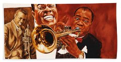 Louis Armstrong Bath Towel
