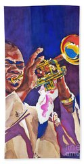 Louis Satchmo Armstrong Hand Towel