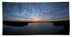 Louisiana Sunrise Hand Towel