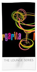 Lounge Series - Margarita Me Hand Towel by Mary Machare