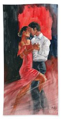 Love And Tango Bath Towel
