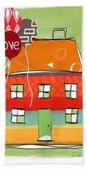 Love Card Hand Towel