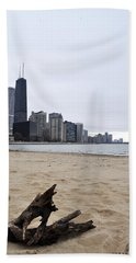Love Chicago Bath Towel by Verana Stark