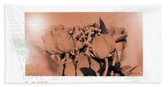 Endless Love. Love Is... Collection 13. Romantic Hand Towel by Oksana Semenchenko