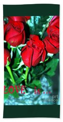 Love Is... Collection. Delightful Hand Towel