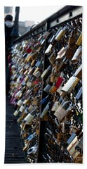 Love Locks Hand Towel