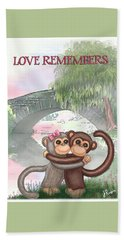 Love Remembers Hand Towel by Jerry Ruffin