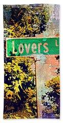Lovers Lane Hand Towel