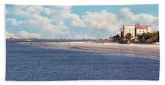 Low Tide - Fort Myers Beach Hand Towel