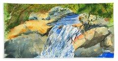 Lower Burch Creek Bath Towel