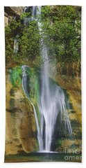Lower Calf Creek Falls Escalante Grand Staircase National Monument Utah Hand Towel