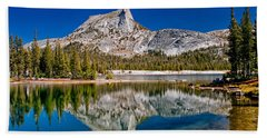 Lower Cathedral Lake Hand Towel