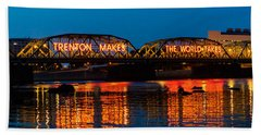 Lower Trenton Bridge Hand Towel