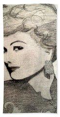 Lucille Ball Bath Towel