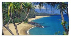 Lumahai Beach Hand Towel