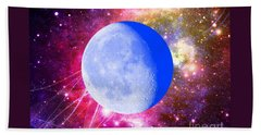 Hand Towel featuring the photograph Lunar Magic by Leanne Seymour