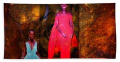 Lupita Nyongo The Lovely Daughter Of Kenya Hand Towel