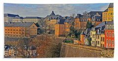 Luxembourg Fortification Hand Towel
